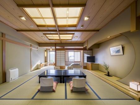 【禁煙】深山亭4〜8階(和室12.5+4.5畳)/富士山