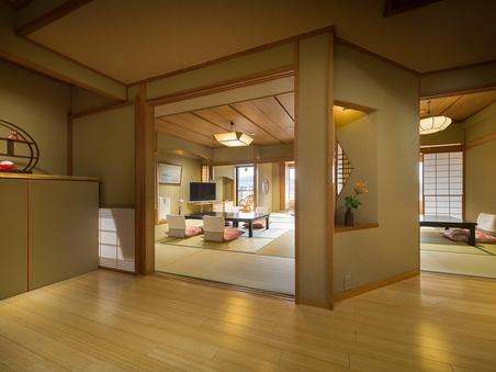 【禁煙】細流亭4号館(和室12.5畳+次間6畳)/富士山眺望