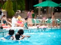 夏休み【ガーデンプール】2018年も開催予定
