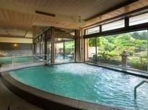 赤富士大浴場内湯(殿方)サウナもございます