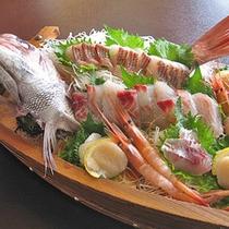 *鯛刺身(一例)