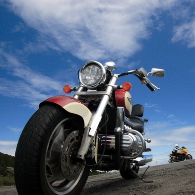 <下田deツーリング> 高級バイクでも安心なガレージ保管プラン