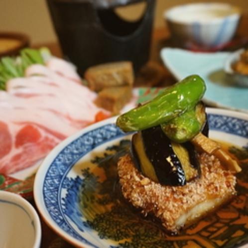 【ご夕食一例】金目鯛の変わり揚げ