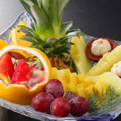 【別注料理】みんなで楽しくつまめる「フルーツ盛り合せ」