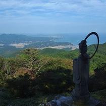 【周辺観光】田束山より海を望む