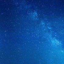満天の星空を楽しめます!