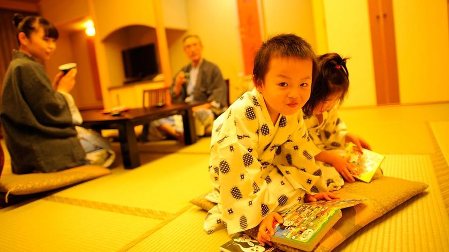 【客室】ゆっくり、まったり家族旅行!