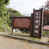 【周辺観光】景勝地「神割崎」(南三陸町)