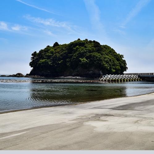 【周辺観光】サンオーレ袖浜と荒島(南三陸町)