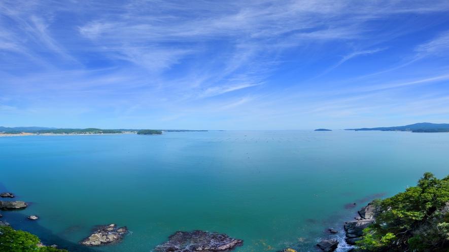 ★眼下に望む志津川湾の絶景!