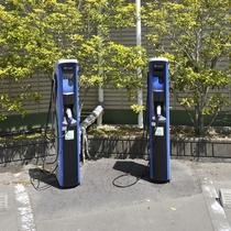 電気自動車用充電スタンドあります(要予約)