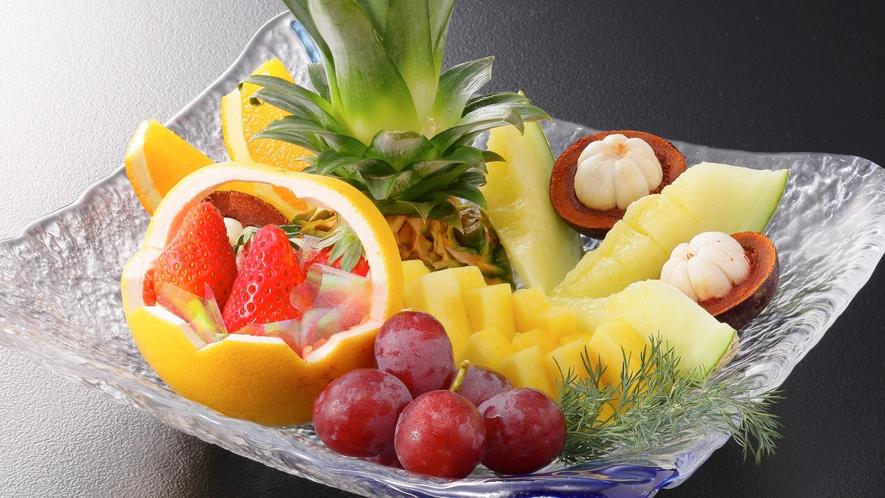 ★カラフルなフルーツ盛り合わせ!
