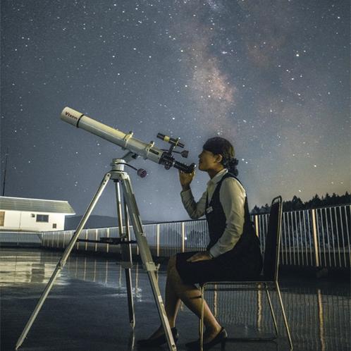 スターパーティー(星空観察会)1か月に一度開催されます!