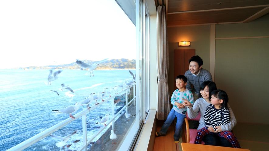 海が見える「客室」