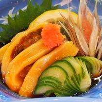 【別注料理】「ほや酢」三陸に来たなら一度は食べて頂きたい夏の珍味!