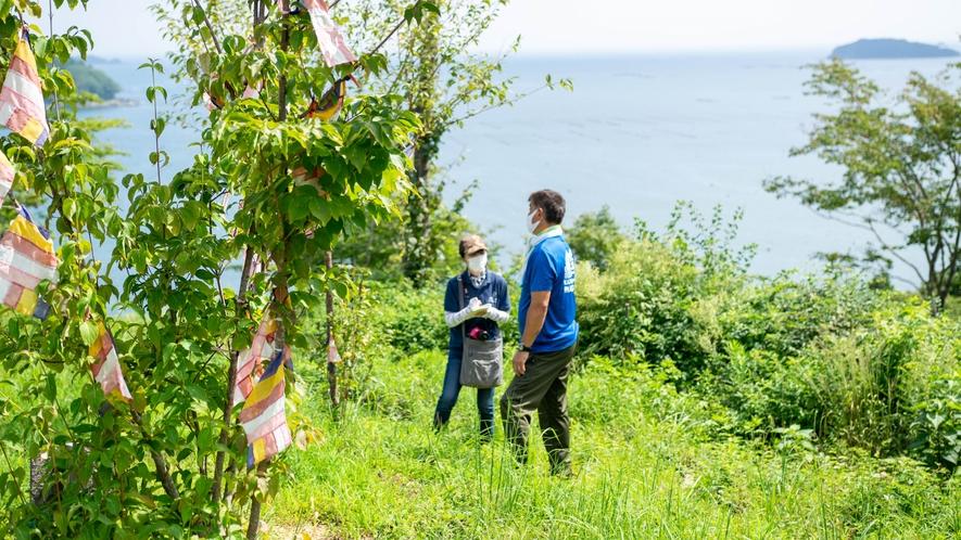 ★当館から徒歩約15分!緑豊かな「海の見えるいのちの森」