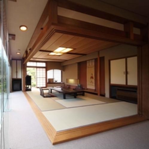 【特別室】 和室12畳+リビング+和室8畳