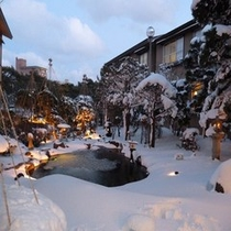 庭園 冬景色