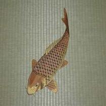 畳(刺繍-真鯉)