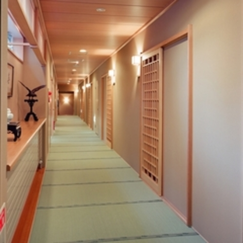 畳敷の廊下