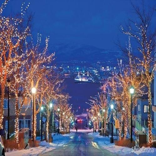 冬の元町周辺