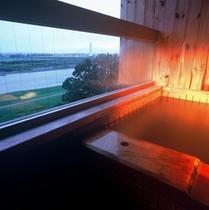露天風呂付客室和室8畳〜夏期イメージ