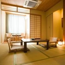 【露天風呂付客室】和室8畳