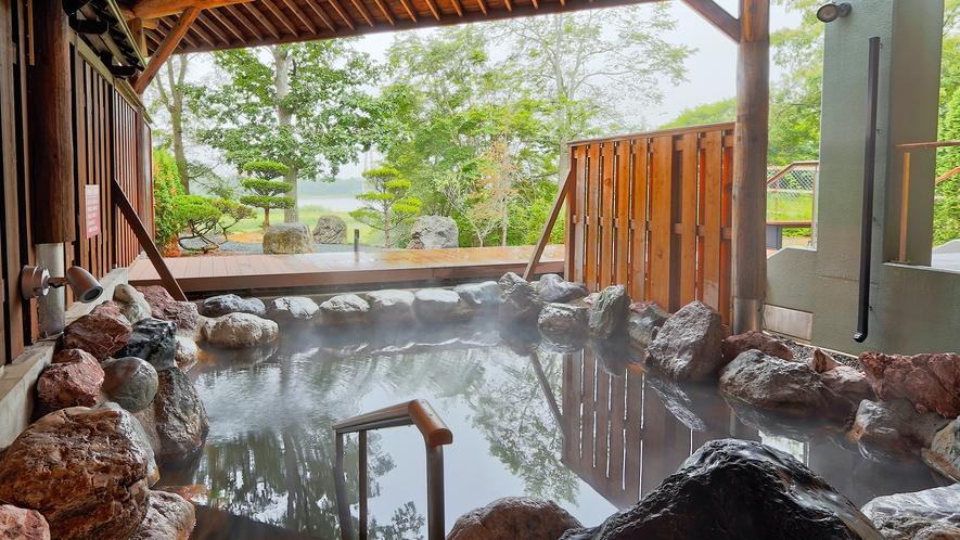 【天然モール温泉】露天風呂