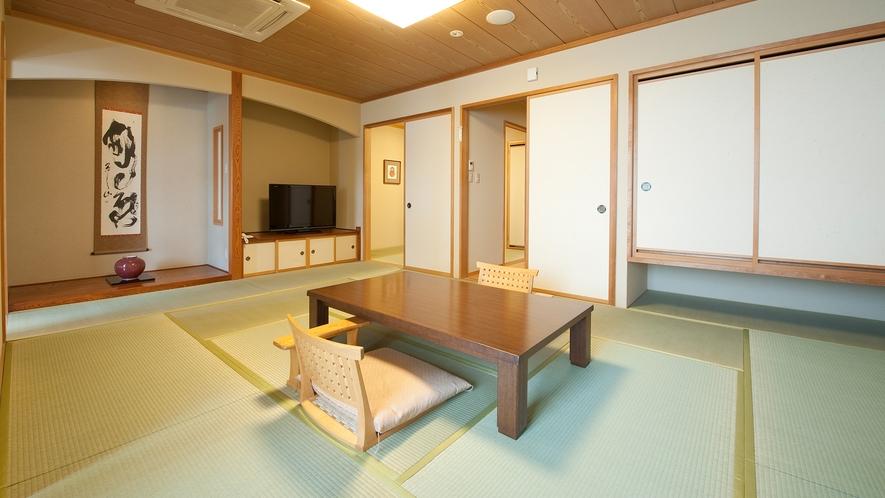 【展望準特別室|紅梅】和室12畳+次の間(川側/禁煙)