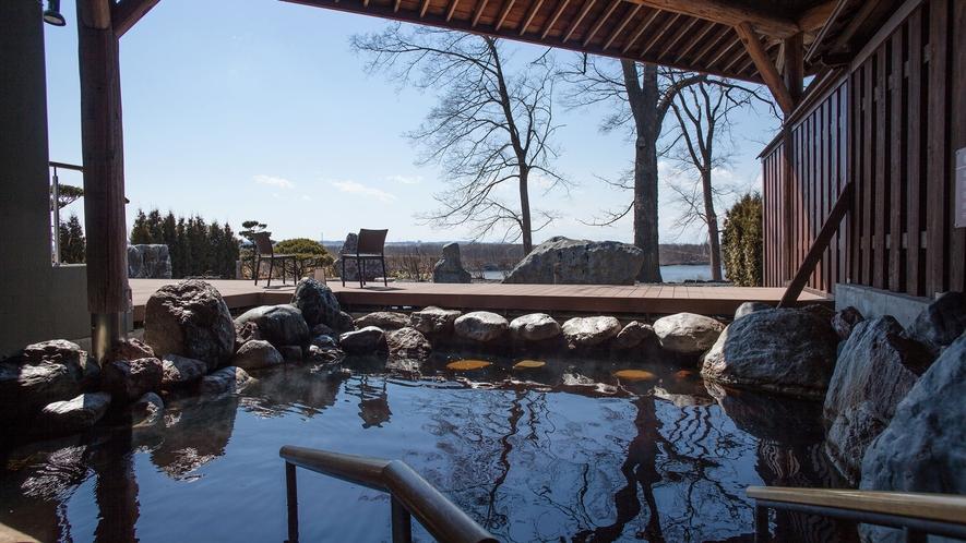 十勝ならではの広大なパノラマに癒される新庭園露天風呂