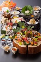 2016秋の旬会席料理「月待ちの膳」