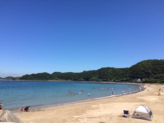 加太海水浴場は夏はイベント盛り沢山!