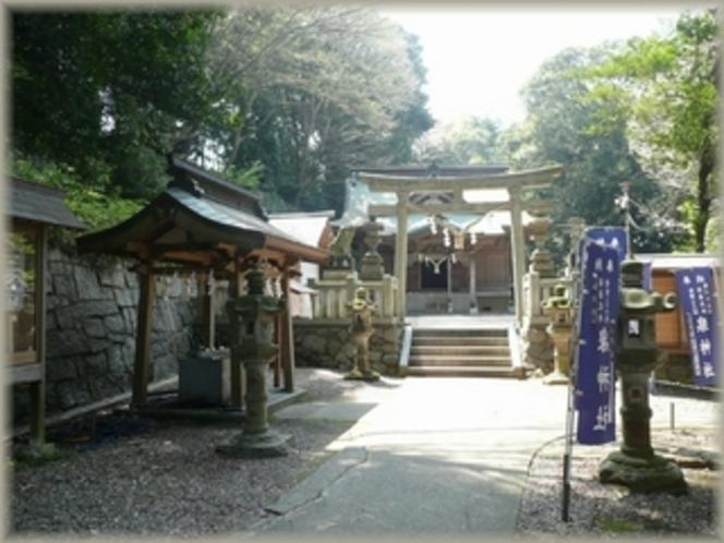 泉神社 茨城県北地方で最も格式の高い延喜式内社