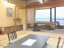 堀こたつ広縁付 海側10畳和室