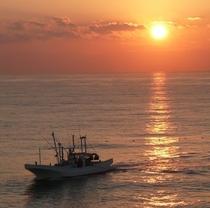 水木浜の夜明け