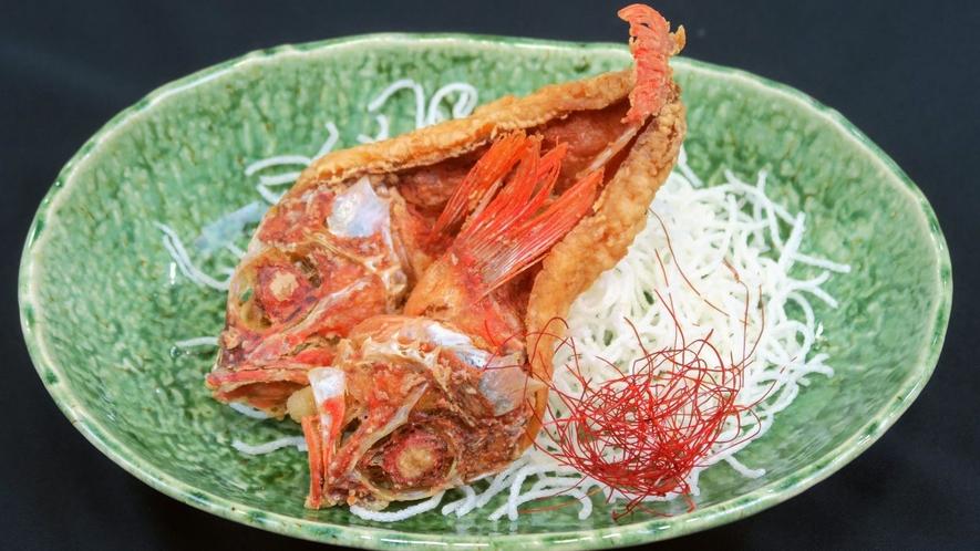 ユメカサゴの中華あんかけ (夕食料理イメージ)