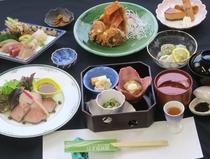 2020年 海づくし黒潮膳43上期 茨城の美味しい海山の幸を味わう標準料理(イメージ)