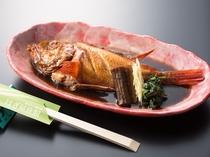 キンキの煮魚 茨城県北海岸地方の代表的なおもてなし料理