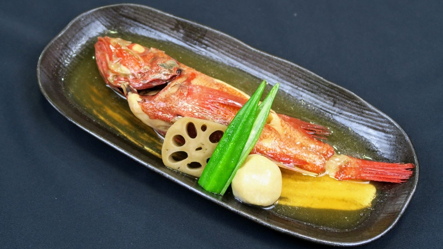 脂が乗って旨味たっぷり きんきの煮付(夕食料理イメージ)