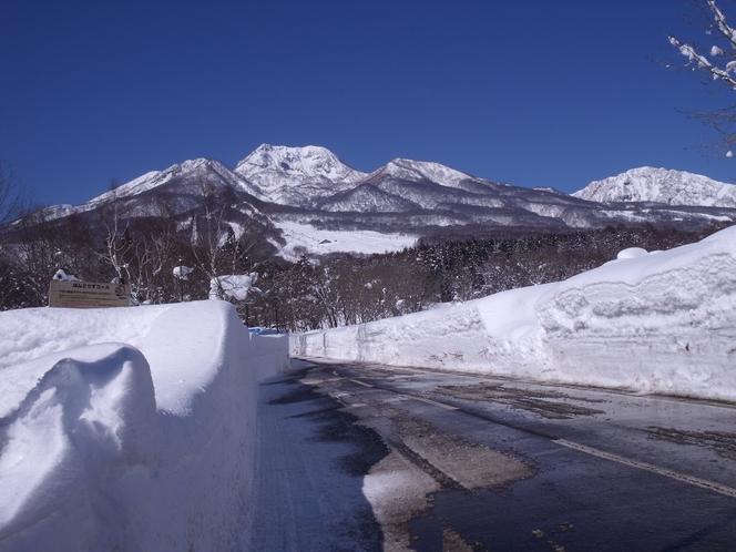 妙高山 冬