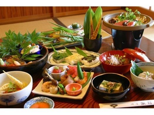 ◆本館ご宿泊:当院オリジナル深山蕎麦懐石料理◆