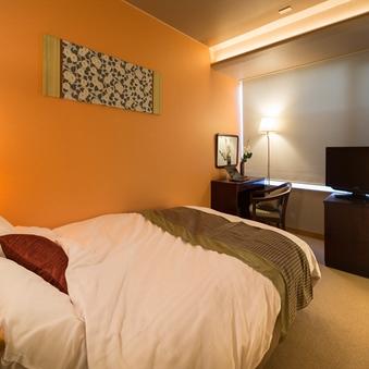 ◆禁煙シングルルーム◆ダブルベッドでぐっすり快眠♪