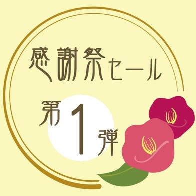 【感謝祭セール☆第1弾】2人で最大6,000円OFF☆早い者勝ちのお値打ちセール♪