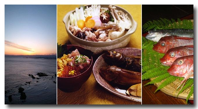 【ファミリー】 あんこう鍋と刺し盛り付き豪華リーズナブルプラン