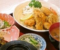 ランチ~カキフライ定食~