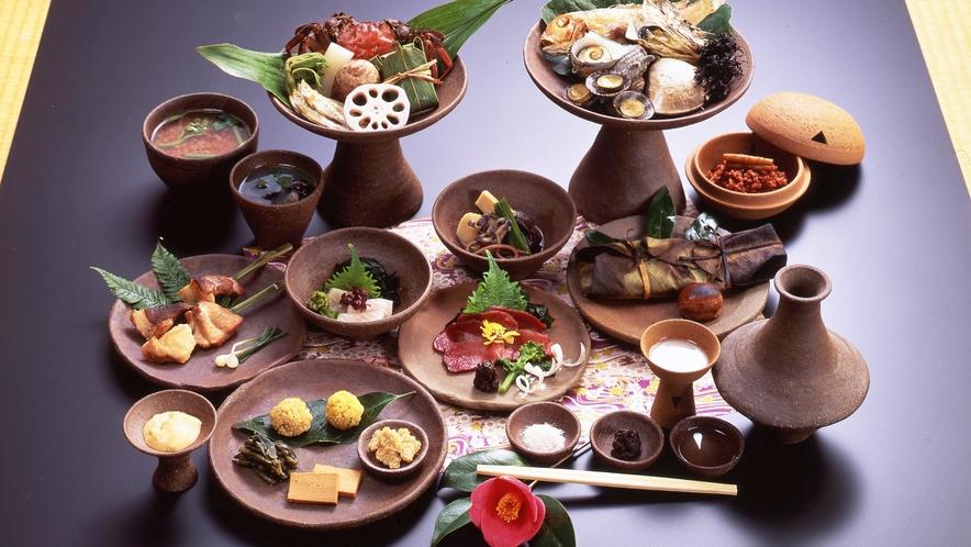 *【古代食「弥生の宴」】文献などから古代食を再現。