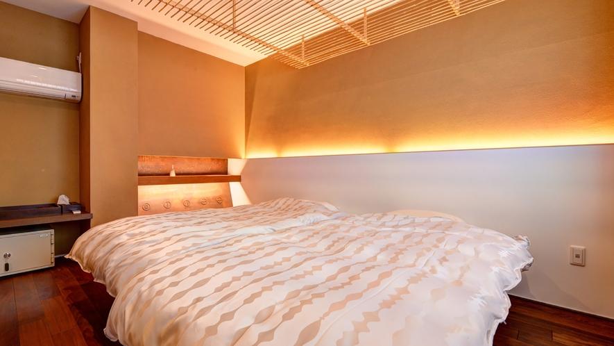 *【和洋室「八上」】和と洋、両方の良さを味わえる客室。ふかふかのベッドで安眠の夜を。