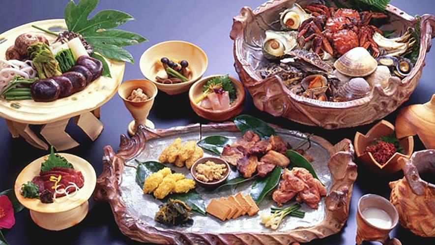 *【縄文の舞】文献などから古代食を再現。
