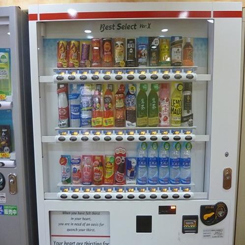 自動販売機(1・2F)