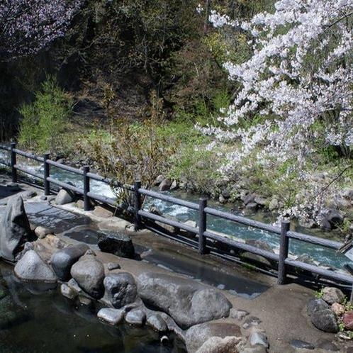 男性専用露天風呂【四季の湯】